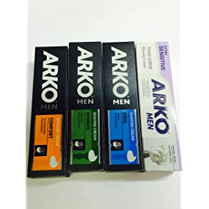 ARKO MEN SHAVING CREAMS x 4 COMBO SET ***FREE UK DELIVERY***