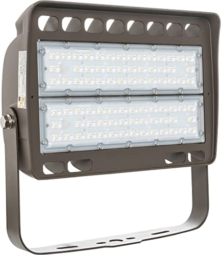 Westgate Lighting LED Flood Light with Trunnion Mount – Security Floodlight Fixture for Outdoor Yard Parking Lot Street Landscape Lights – UL Listed 150 Watt 5000K Cool White