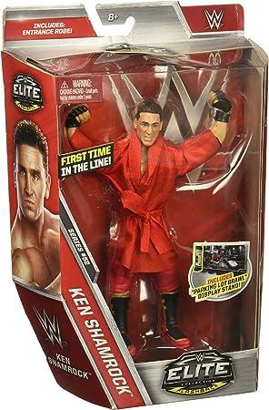 WWE- Figura Deluxe Ken Shamrock (Mattel Spain DXJ40): Amazon.es: Juguetes y juegos