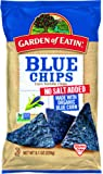 Garden of Eatin' No Salt Added Blue Corn Tortilla Chips, 8.1 oz. (Pack of 12)