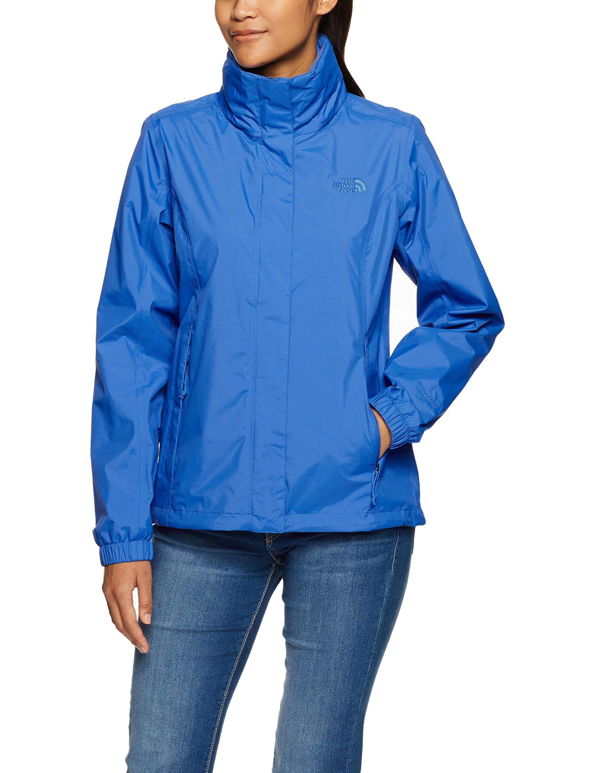 The North Face Women's Resolve 2 Jacket (Small, Amparo Blue)