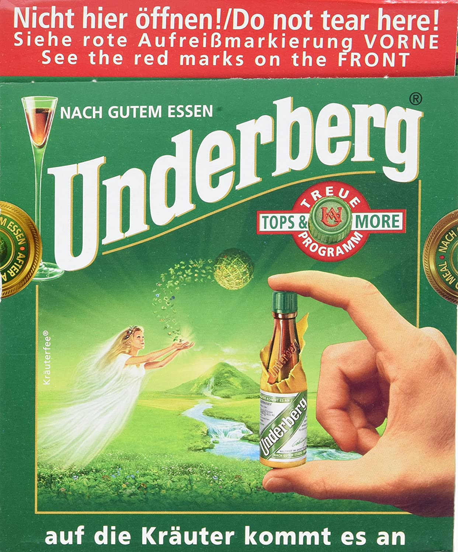 Underberg 4×30 Bottle Convenience Pack – Full Case