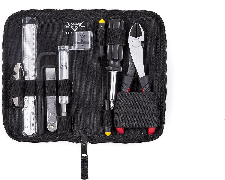 Fender FENMN - Kit de herramientas para guitarra, color negro