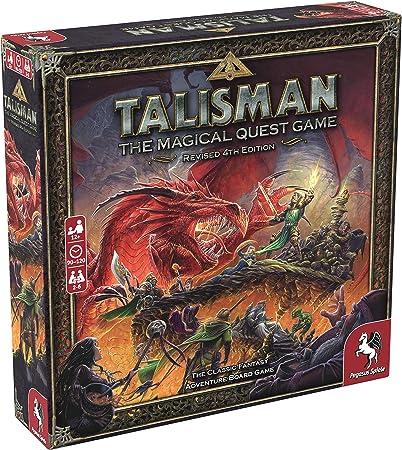 Pegasus Spiele Talisman: Revised 4th Edition, Brown