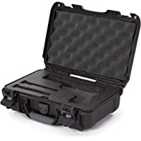 Nanuk 909 Waterproof Professional Classic Pistol/Gun Case, Military Approved with Custom Insert - Black - Made in Canada