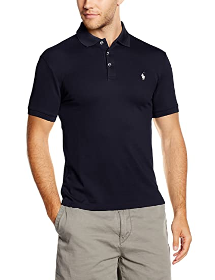 Ralph Lauren SS KC Slfit Mdl 1 Polo, Azul (French Navy A4560 ...