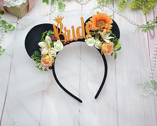 Amazon Com Bride To Be Party Crown Bridal Shower Headband Minnie