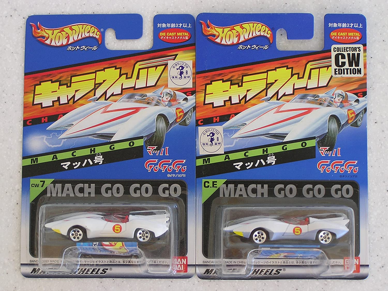 Hotwheels Mach 5 CW Speed Racer Edition Die Cast Chara Wheels