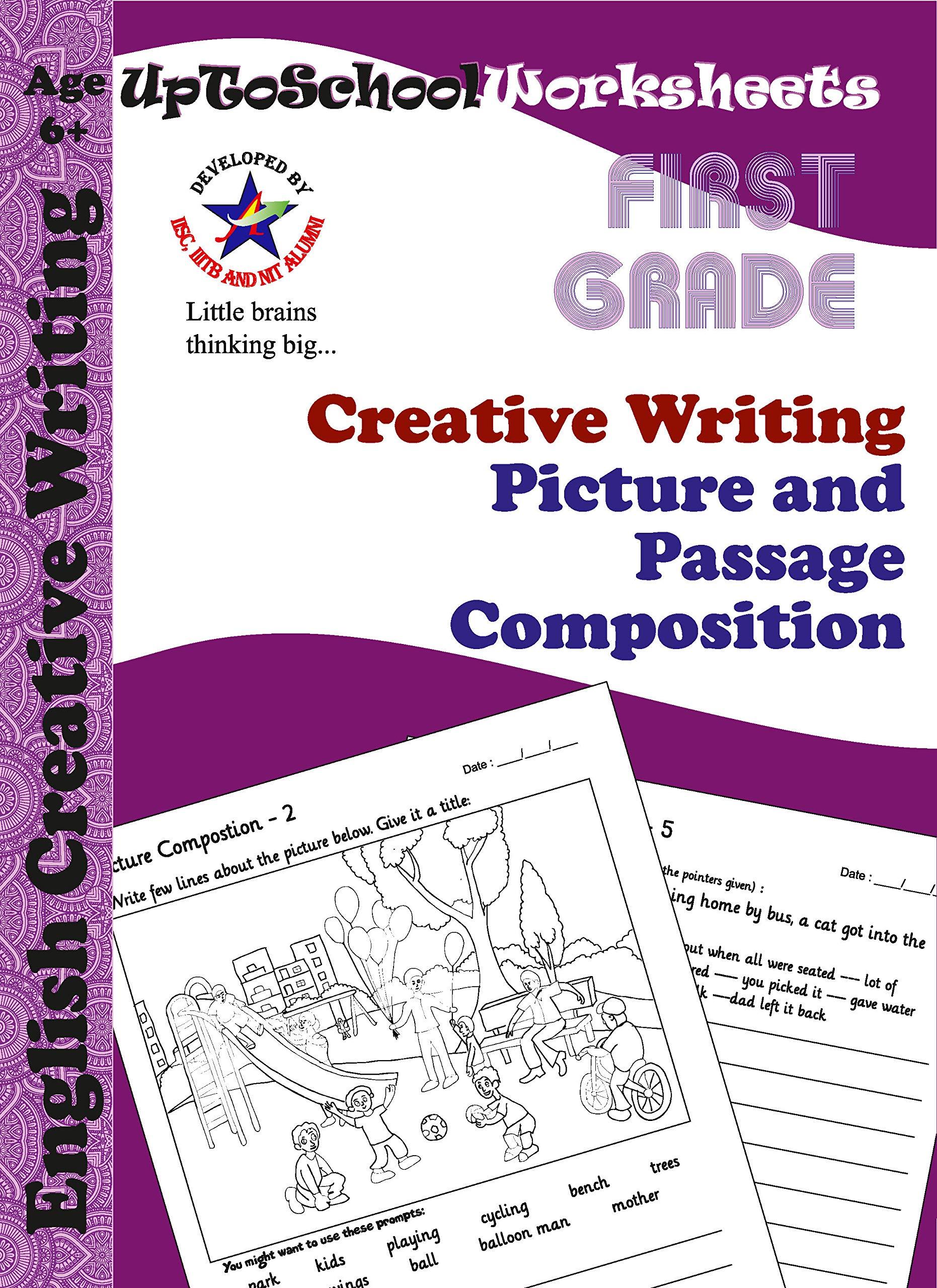 Amazon.in: Buy Grade 1 English Creative Writing Worksheets ...
