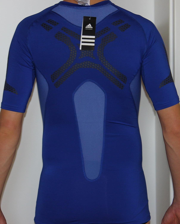 Escalofriante Egipto hélice  Adidas TF PREP SS size M Men's Functional Shirt Techfit Climacool ...