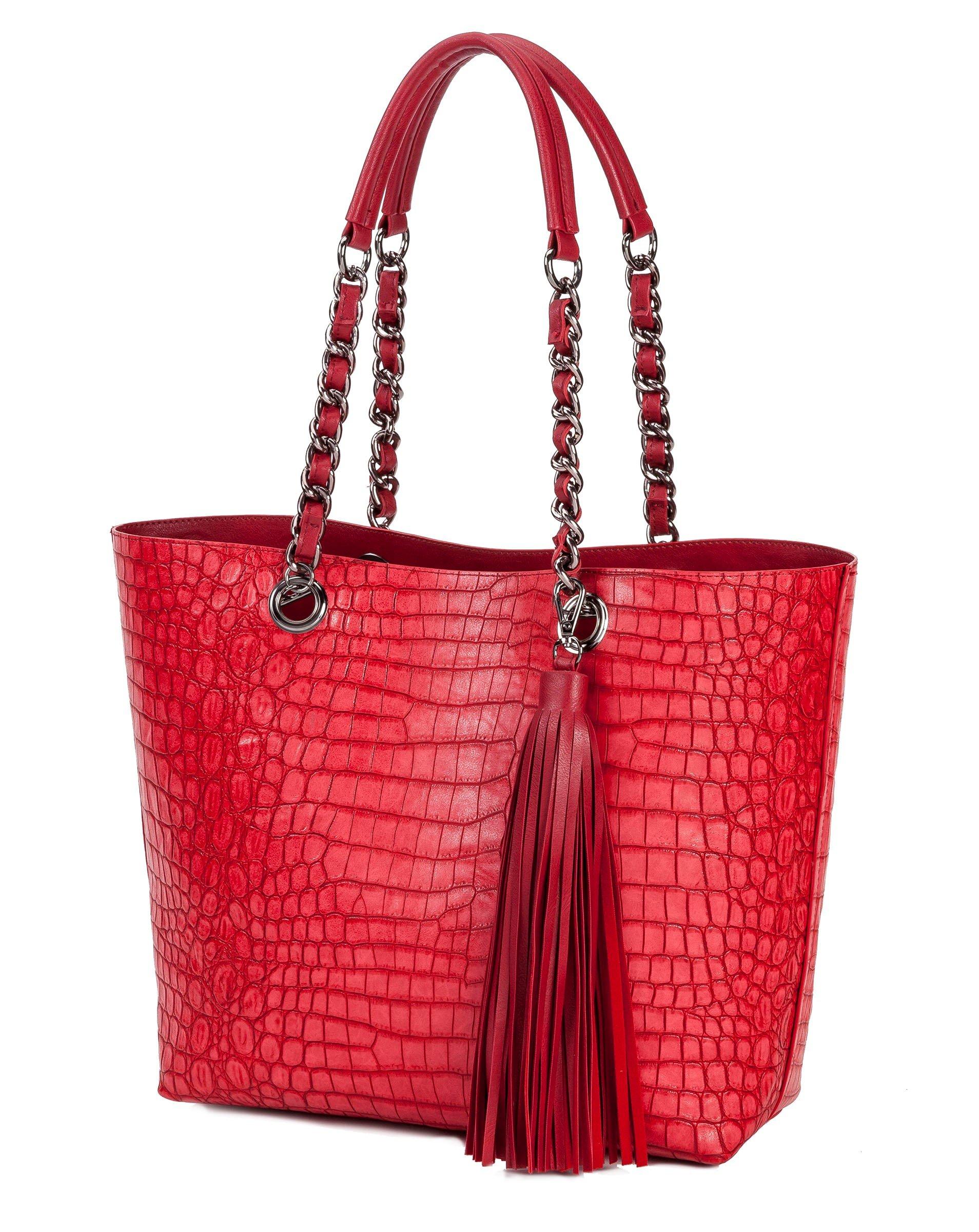 Sydney Love Reversible Tote Bag Crocodile