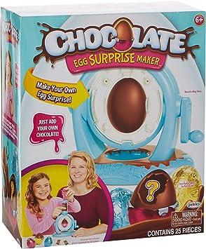 Chocolate Egg Surprise Huevo DE Chocolate, Multicolor, Talla única ...