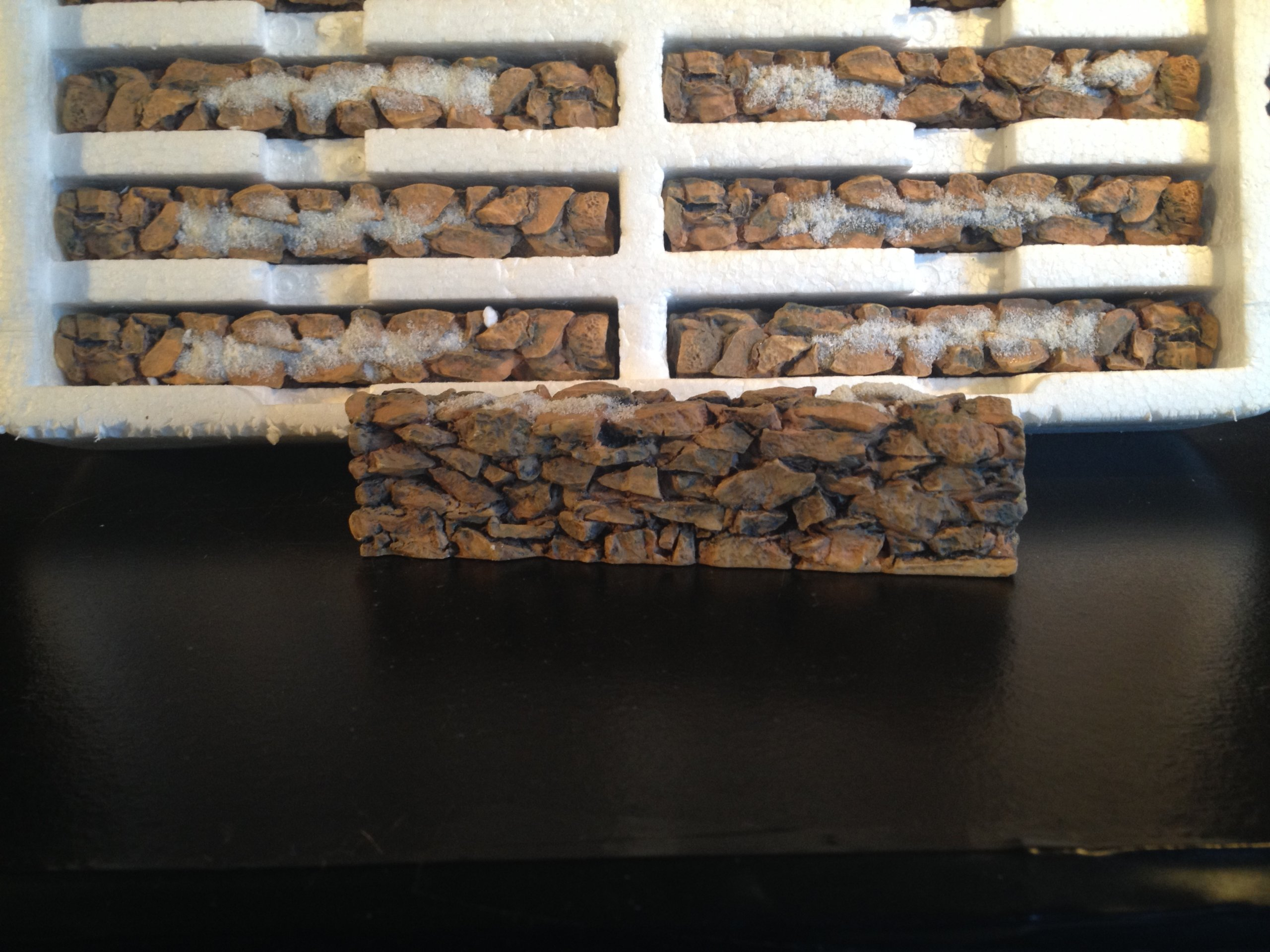 Dept 56 Stone Wall