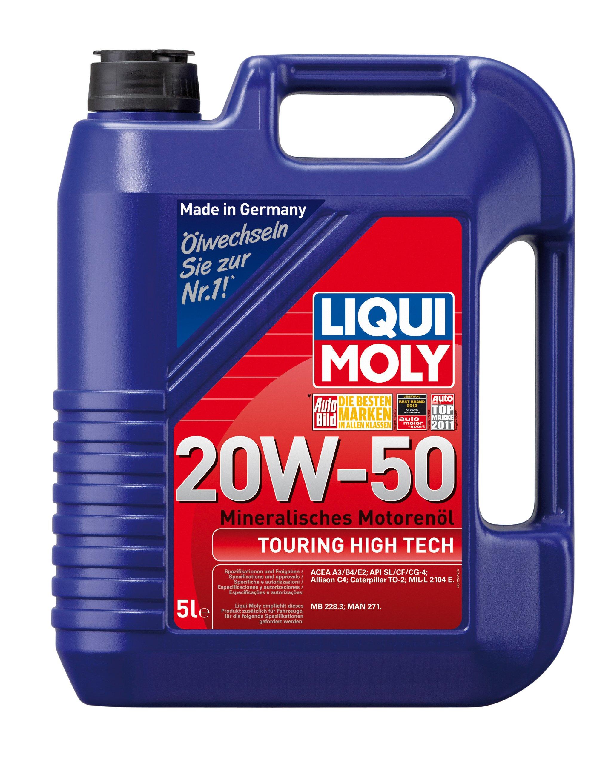Liqui Moly Touring High Tech 1255 Engine Oil 20 W-50 5 Litres