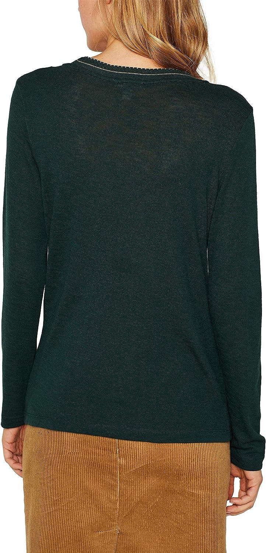 Esprit T Shirt /À Manches Longues Femme