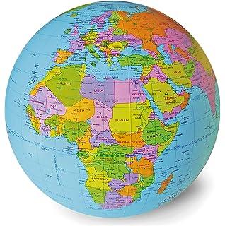 Caly - Esfera del mundo político hinchable, 30 cm ...