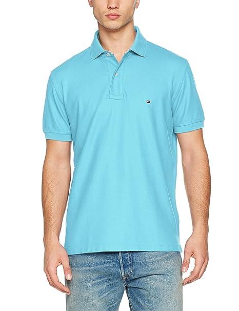 Hilfiger Regular, Polo para Hombre, Azul (Mazarine Blue 400), XX-Large Tommy Hilfiger