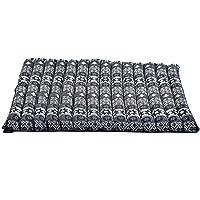 Leewadee poduszka medytacyjna duża kwadratowa mata Zabuton do siedzenia podłogowego przyjazna dla środowiska organiczna…