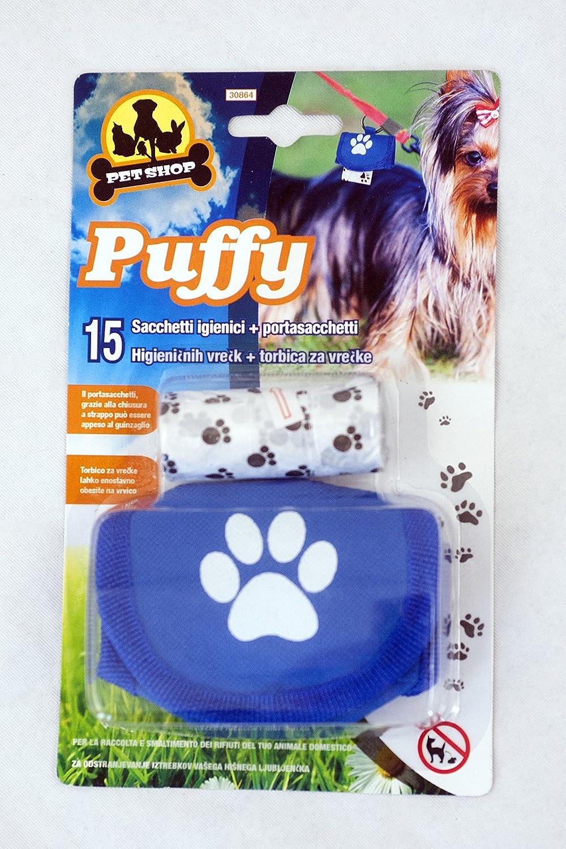 Pet Shop 15 bolsas de papel higiénico portasacchetti 1-Juego de 15 piezas: Amazon.es: Hogar