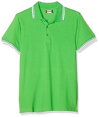 Clique Amarillo Polo Shirt Hombre: Amazon.es: Ropa y accesorios