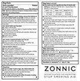 ZONNIC Nicotine Gum 2mg Fruit -10 Count - Quit