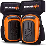 Knee Pads for Work by Thunderbolt for Construction, Flooring, Gardening, Cleaning, Tile Heavy Duty with Double Gel…