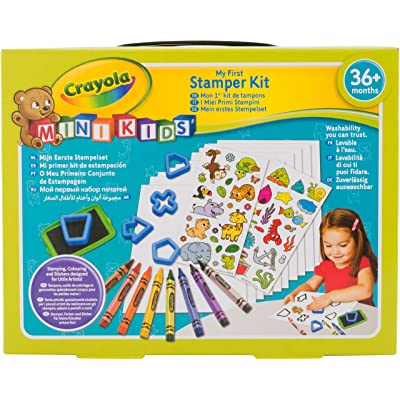 Crayola Mini Kids 81-1359-E-000 - Mon 1Er Kit de Tampons