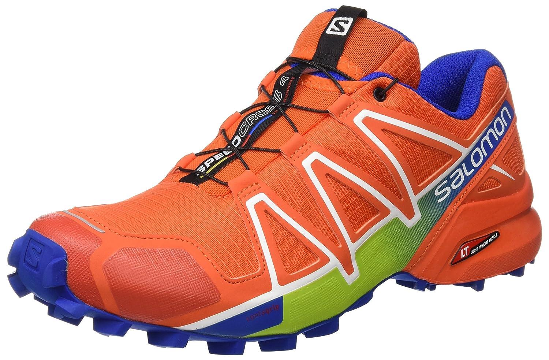 Salomon L39072300, Zapatillas de Trail Running para Hombre 47 1/3 EU|Rojo (Red)