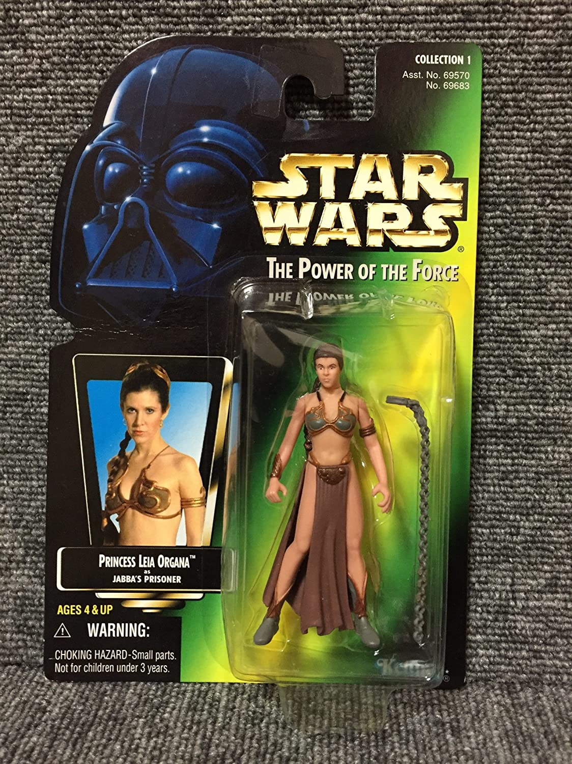Star Wars Basic Figure Princess Leia ( Leia in slave girl ) STARWARS The Power Of The Force by