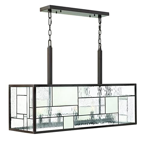 Hinkley 4575kz transitional five light linear chandelier from hinkley 4575kz transitional five light linear chandelier from mondrian collection in bronzedarkfinish 1200 aloadofball Image collections