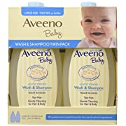Aveeno Baby Wash and Shampoo, 36 Fluid Ounce