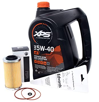 Amazon.com: Kit de cambio de aceite Sea-Doo GTI SE 130 y SE ...