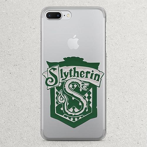 sale retailer 5408e eea47 Amazon.com: Slytherin tie robe scarf shirt Harry Potter iPhone X 8 7 ...
