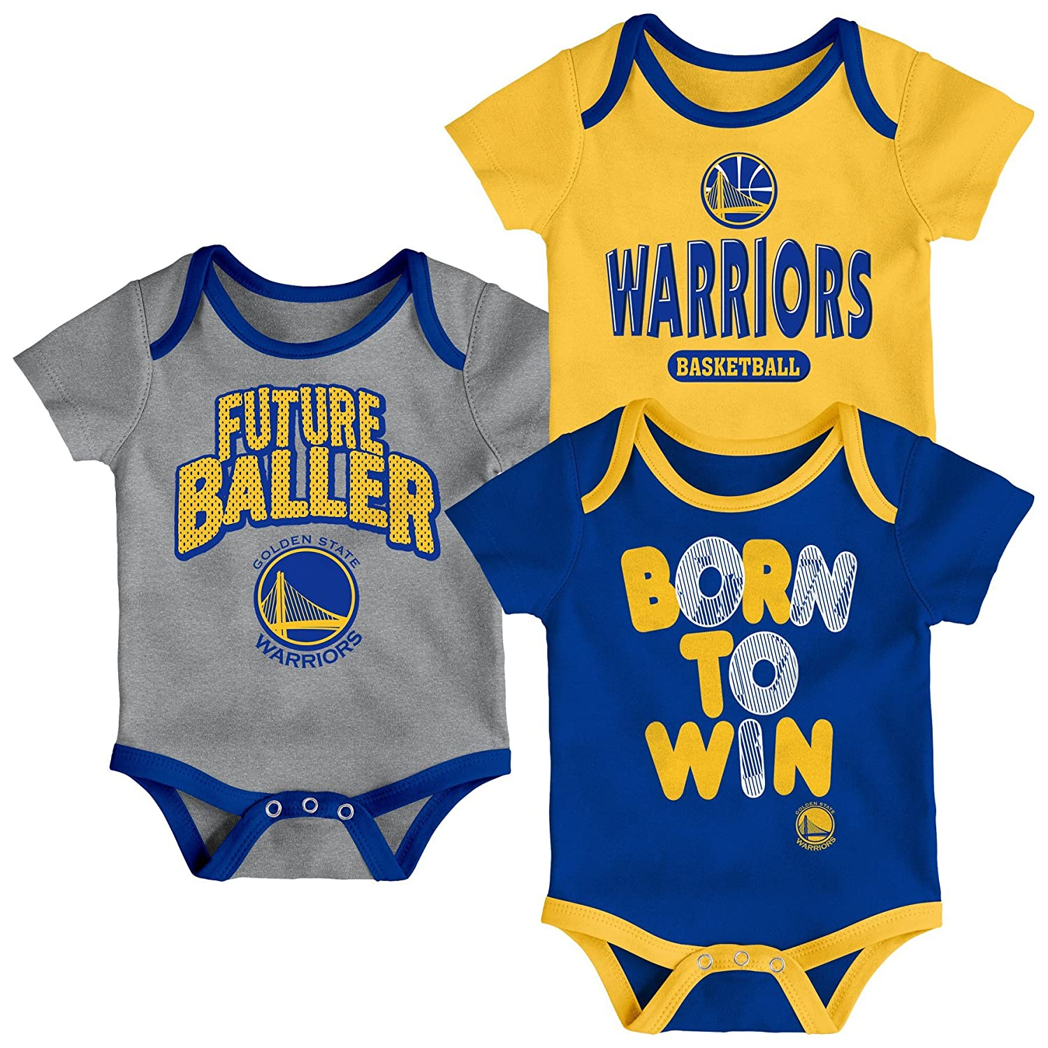 47b204007a1 NBA by Outerstuff NBA Newborn   Infant Little Fan 3pc Bodysuit Set  9K2N1BAQ6 NYN HGY- ...