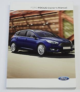 Genuine Ford Focus Handbook Owners Manual   Book Automatic Manual