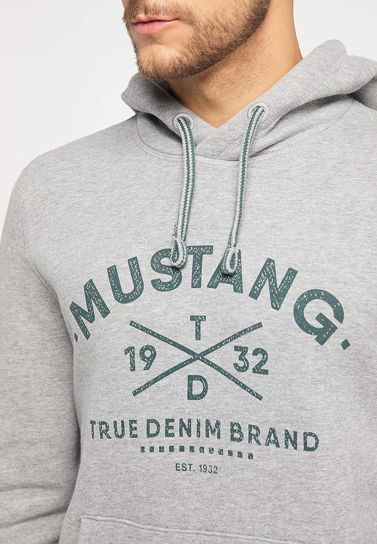 Mustang Bennet H Logo Capucha para Hombre