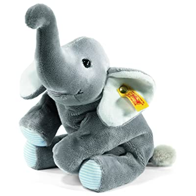Steiff Little Floppy Trampili Elephant, Grey: Toys & Games