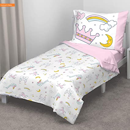 Amazon com: Mikash New Soft Whimsical Princess Tales 4 Piece Toddler