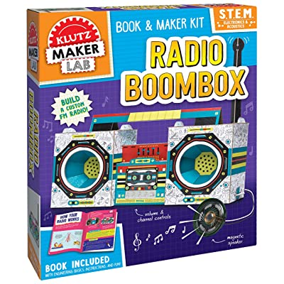 KLUTZ Maker Lab Radio Boombox: Toys & Games