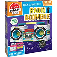 Klutz K832584 Radio Boombox, Brown