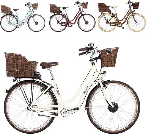Bicicleta Eléctrica Fischer ER 1804, beige, 28