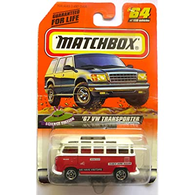 Matchbox - Mattel Wheels - '67 VW Transporter miniature car replica. Series 13-Science Fiction (#4 of 5). Collector #64 from 1999 Matchbox 100 collection.: Unknown: Toys & Games