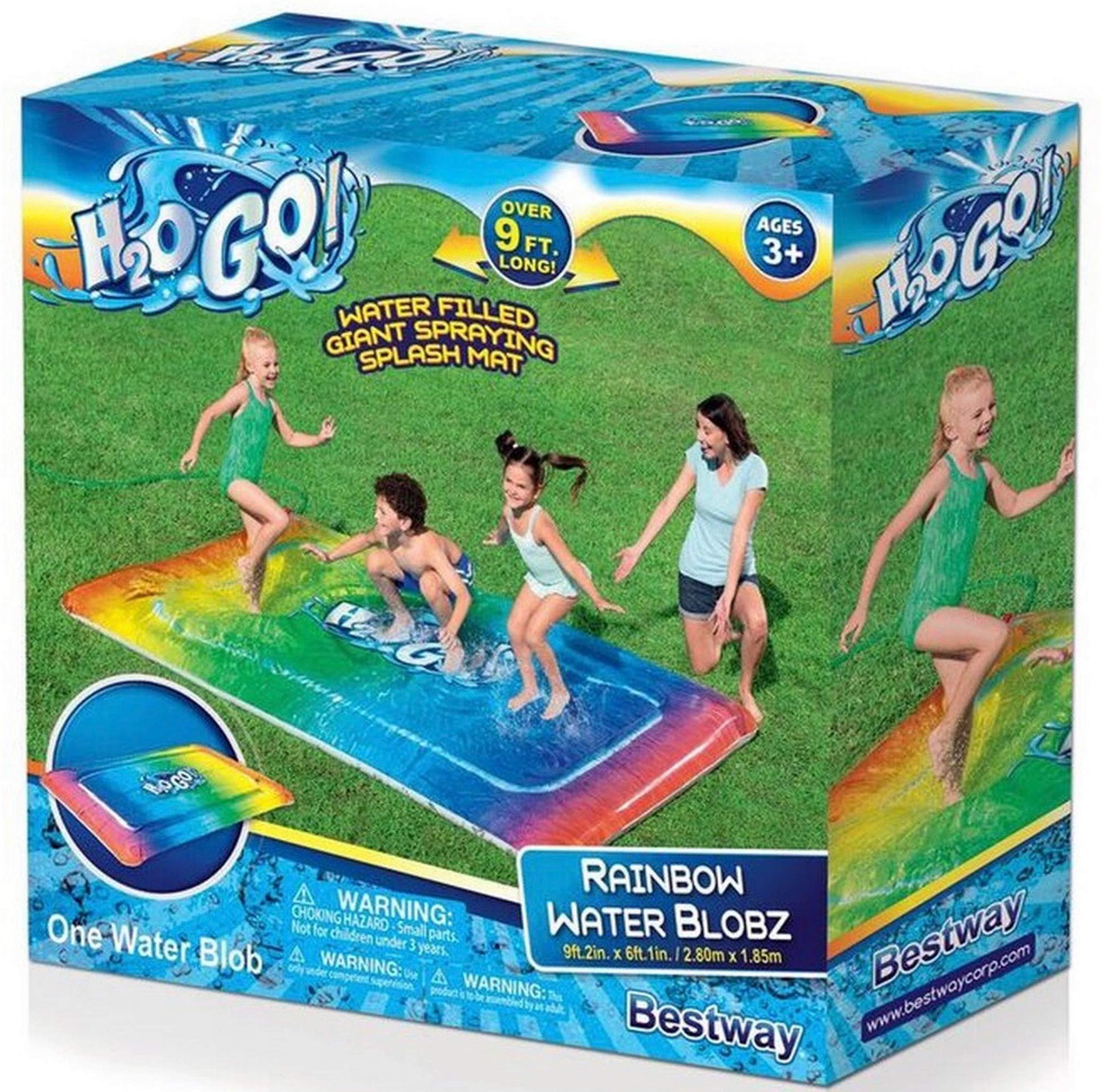 H2OGo! Rainbow Blobz Water Pad Blobzter 9'2''x6''.1''