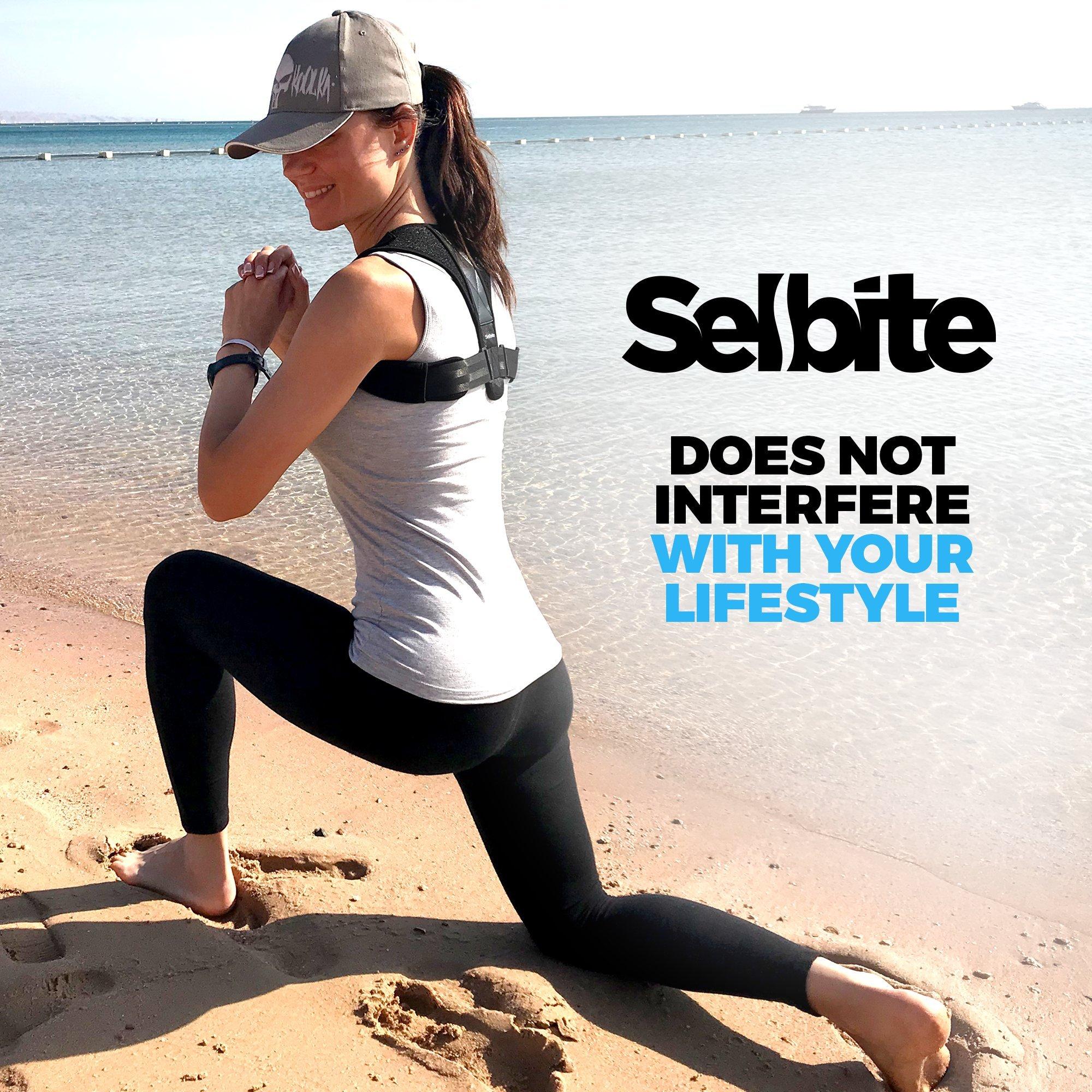 Back Posture Corrector for Men Women - Effective Posture Corrector Upper Back Straightener - Adjustable Posture Brace - Back Brace - Lightweight and Comfortable for Improving Posture by Selbite (Image #4)