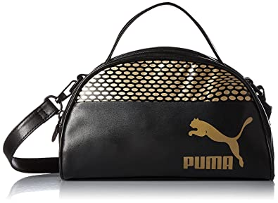 7651ffd955 Puma Fif Mini Grip Women s Bag Black  Amazon.in  Shoes   Handbags