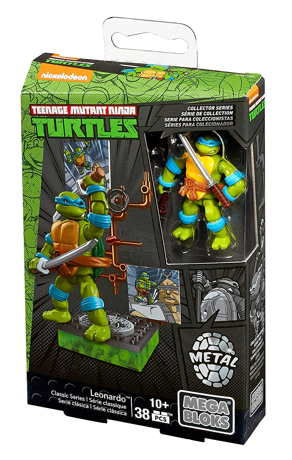 Mega Bloks Teenage Mutant Ninja Turtles Collectors 1987 ...