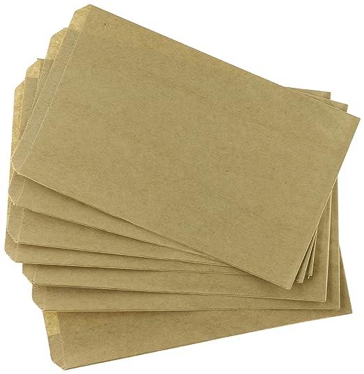 Amazon.com: MyCraftSupplie, 200 bolsas de papel madera ...