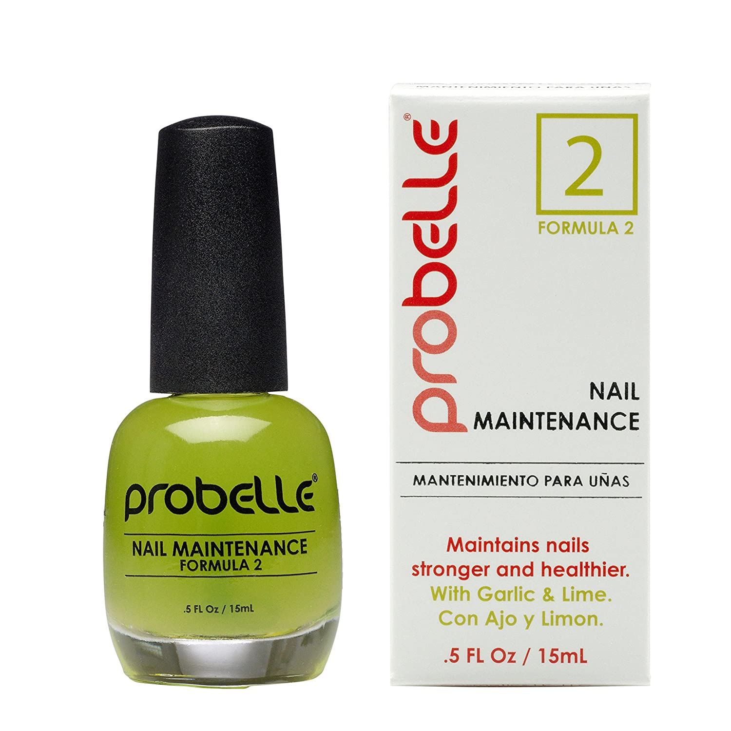 Amazon.com : Probelle Nail Maintenance with Garlic and Lime, Formula ...