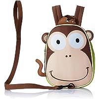 Lancheira Térmica para Passeio Macaco, Multikids Baby, Marrom