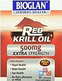 Bioglan 500mg Red Krill Oil Extra Strength Capsules - Pack of 30 Capsules